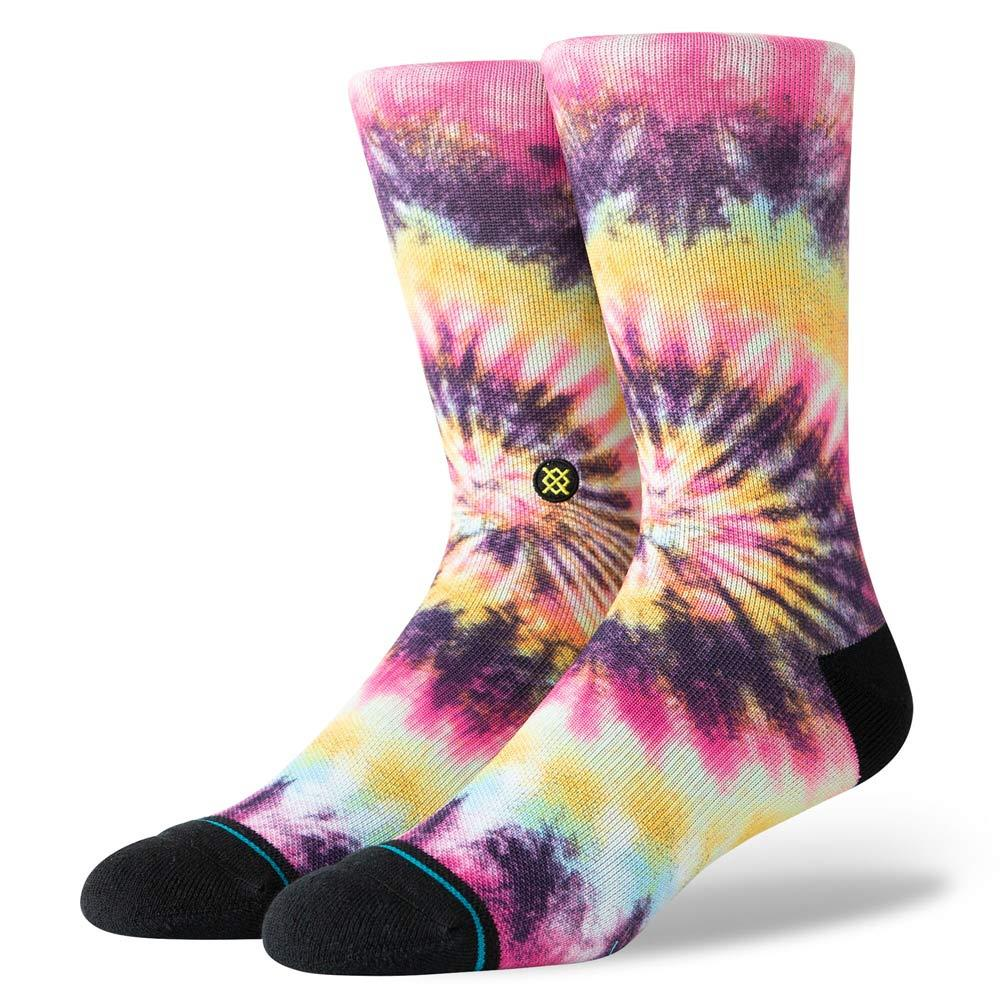 M558C19SAR.MUL, MULTI, STANCE SOCKS, SATURN RAINBOW, MENS CREW SOCKS
