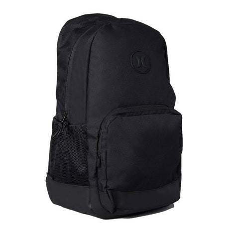HU0005-010, Black, Hurley, Blockade II Solid Backpack, School Backpack, Side view