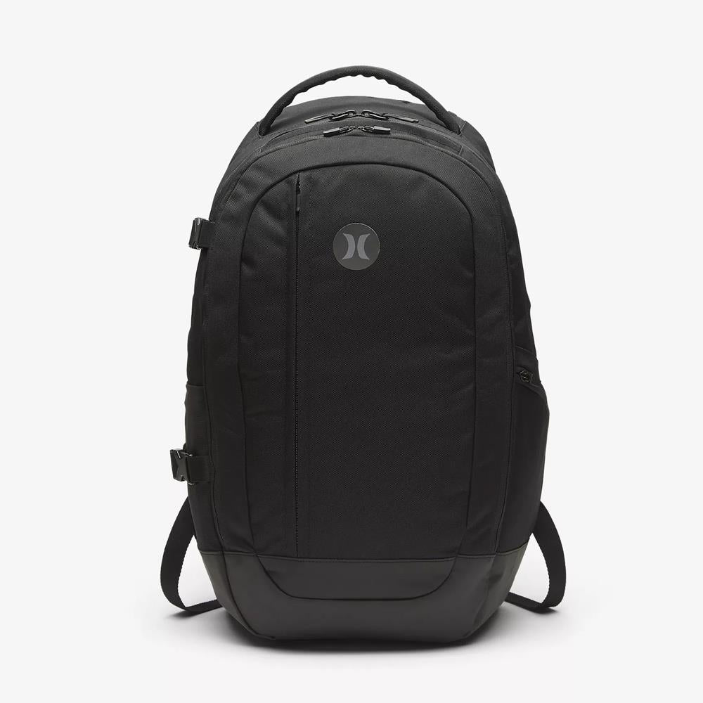 HU0016-010, Hurley, Wayfarer II Backpack, 30L, Street Backpacks, Black, Outside View