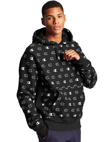Champion Reverse Weave Pull Over All Over Print