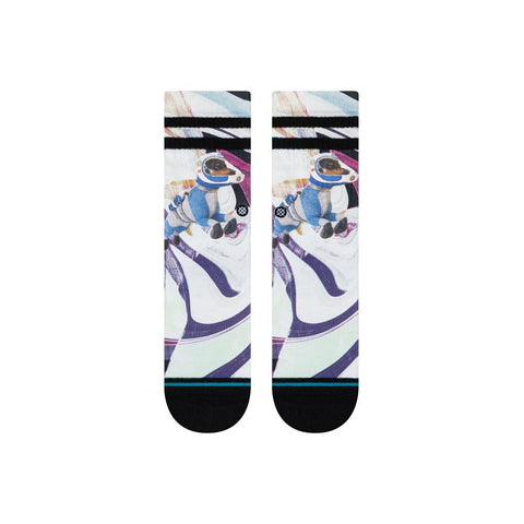 K526C19ASK.BLK, BLACK, KIDS ASTRODOG CREW SOCKS, STANCE SOCKS,