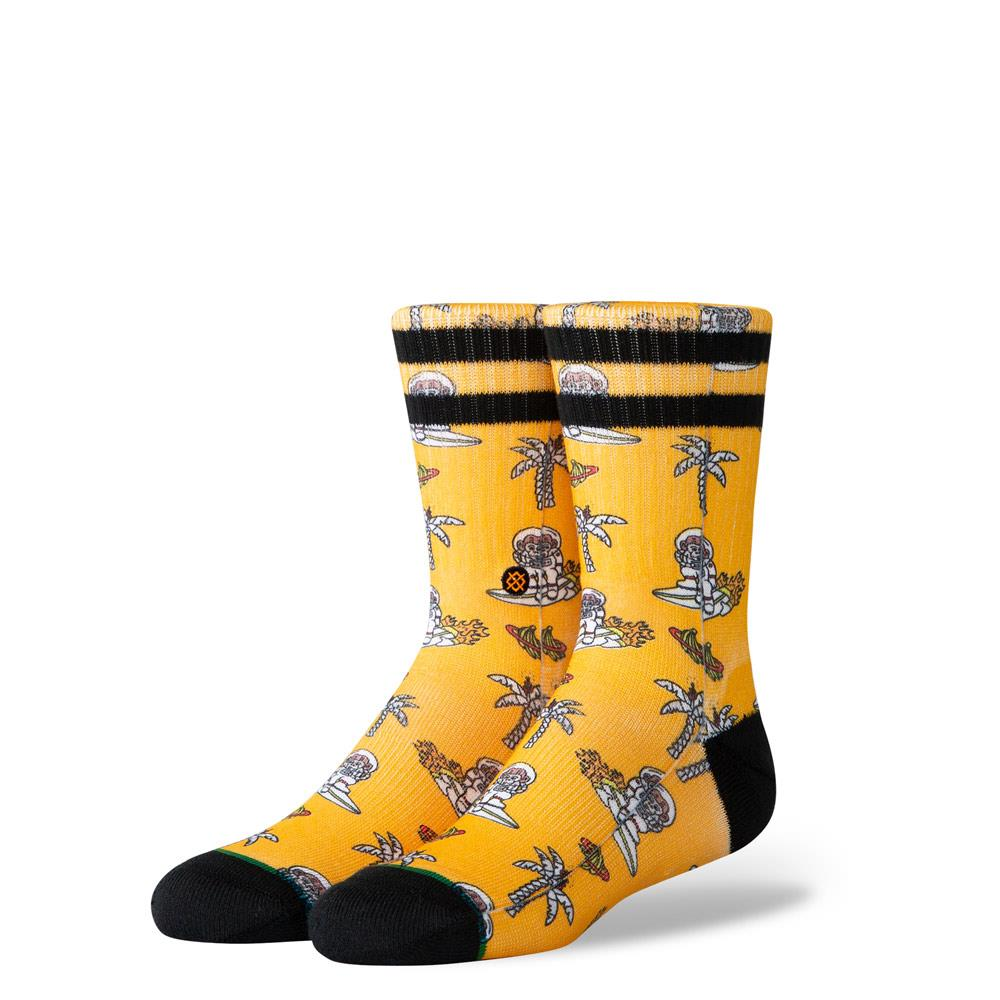 K526C19SMK.ORA, ORANGE, KIDS SPACE MONEY SOCKS, STANCE SOCKS