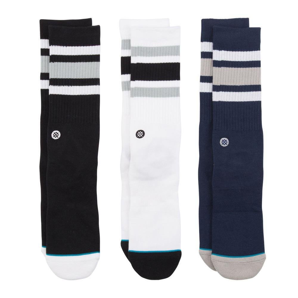 M556A19BRK.MUL, MULTI, BOYD 3 PACK, STANCE SOCKS, MENS CREW SOCKS, FALL 2019