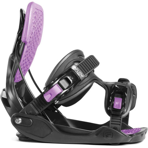fs190220-charcoal Flow Haylo Bindings charcoal side