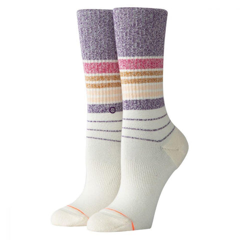 W556C19BIC.PUR, PURPLE, BRING IT BACK, STANCE SOCKS, WOMENS CREW SOCKS, FALL 2019