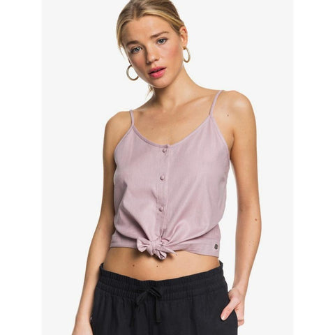 ERJWT03423-PHQ0, MAUVE SHADOWS, ROXY, BECOME THE ONE STRAPPY BUTTONED CROP TOP, WOMENS TANK TOPS, SPRING 2020
