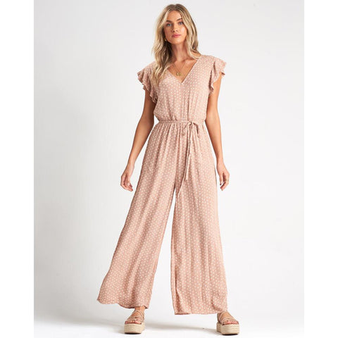 Billabong Hearts Game Jumpsuit