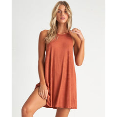 XV041BSA-HEN, Henna, Billabong,Sandy Sea Swim Cover Up, Womens Beach Cover Up, Womens Sun Dresses, Spring 2020, Rust, Orange,