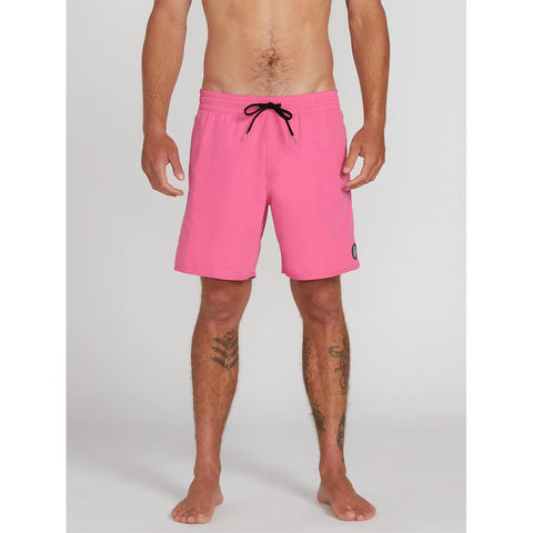 A2512005-DSP, DESERT PINK, PINK, LIDO SOLID TRUNK 16INCHES, VOLCOM, MENS BOARDSHORTS, MENS TRUNKS, SPRING 2020, FRONT VIEW