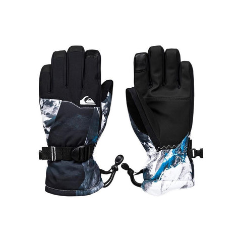 EQBHN03026-BNR7, Cloisonne Random Pics, Quiksilver, Mission Gloves, Boys 8-16 years old, Snowboard gloves,