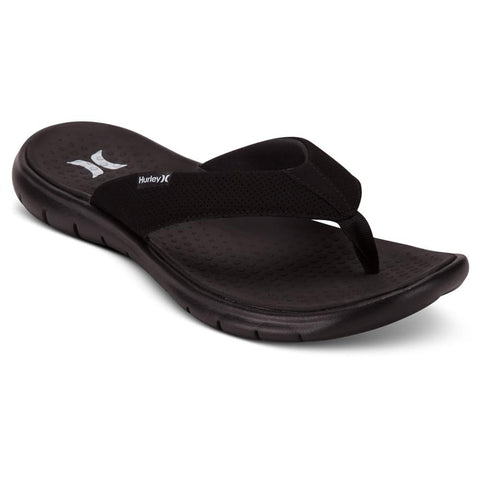 924747-010, BLACK, HURLEY, FLEX 2.0 SANDALS, MENS FLIP FLOPS, 2019