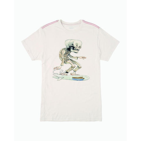 M4201RSK-ANW, ANTIQUE WHITE, PINK, RVCA, SKULL SURFER SS, MENS SHORT SLEEVE T-SHIRTS, SPRING 2020