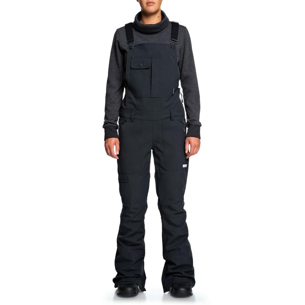 EDJTP03021-KVJ0, COLLECTIVE BIB SNOW PANTS, DC, WOMENS SNOW PANTS, WINTER 2020
