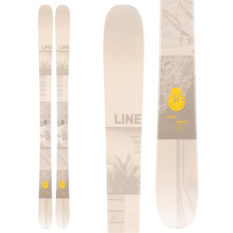 A190301001, Honey Badger, Line Skis, Winter 2020, Tan, Off White, Mens Skis, Yellow,