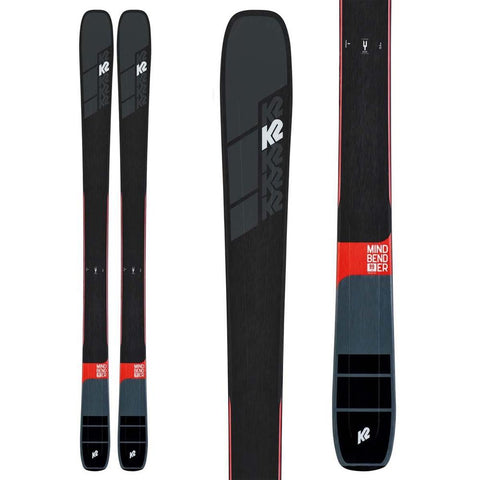 S190300501, K2, MINDBENDER 99TI, WINTER 2020, MENS SKIS, BLACK,