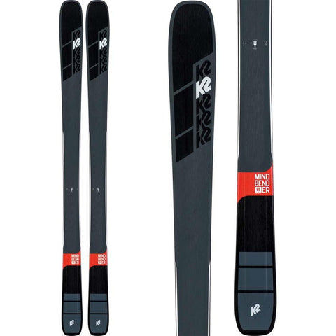 S190300601, K2, MINDBENDER 90TI, WINTER 2020, MENS SKIS, BLACK,