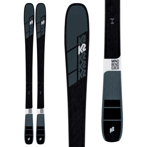 S190300801, K2, MINDBENDER 85, WINTER 2020, MENS SKIS, BLACK
