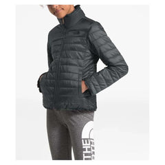 NF0A3Y7E-0C5, ASPHALT GREY, GIRLS REVERSIBLE SWIRL JACKET, THE NORTH FACE, GIRLS OUTERWEAR, WINTER 2020