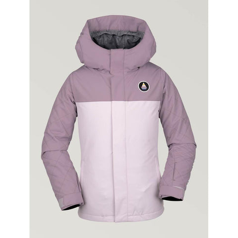 i0452007-vic Volcom SaasNFras Youth Insulated Jacket violet ice front view