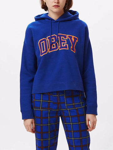 Obey Conrad Cropped Hoodie