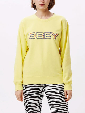 Obey Blockside Long Sleeve Crew Shirt