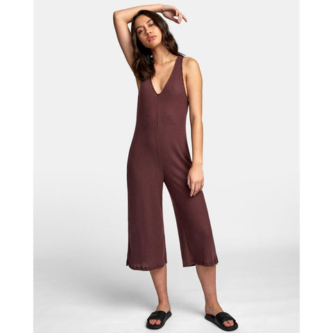 WL07WRSI-FGD, FUDGE, SINGULAR JUMPSUIT, RVCA, WOMENS JUMPSUITS, ROMPER, HOLIDAY 2019