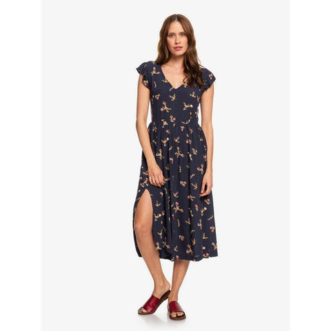 ERJWD03384-BSP9, MOOD INDIGO IN MY BAG, RUSH, MINUTE SHORT SLEEVE MIDI DRESS, WOMENS DRESSES, CASUAL DRESS, HOLIDAY 2019