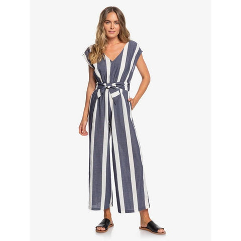ERJWD03403-XBBB, MOOD INDIGO SUNSHADE STRIPES, SAME OLD BLUES SLEEVELESS WIDE LEG JUMPSUIT, ROXY, WOMENS JUMPSUITS, HOLIDAY 2019