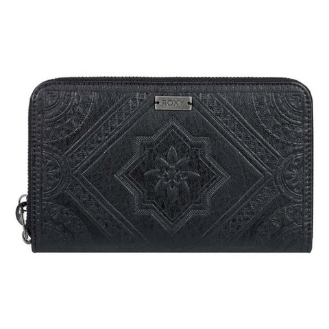 ERJAA03673-KVJ0, BLACK, ANTHRACITE, Oopsie Daisy Zip-Around Wallet, ROXY,