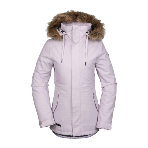 Volcom, H0452011-VIC, Violet Ice, Pink, Fawn Insulated Jacket, Womens Outerwear, snowboard jacket, Winter 2020