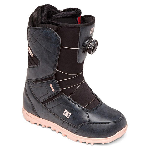 adjo100019-bl0 DC Search Boa Snowboard Boots black overall view