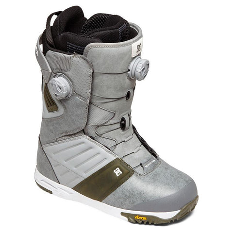 adyo100036-gry DC Judge Mens Boa Snowboard Boots grey ovrall view