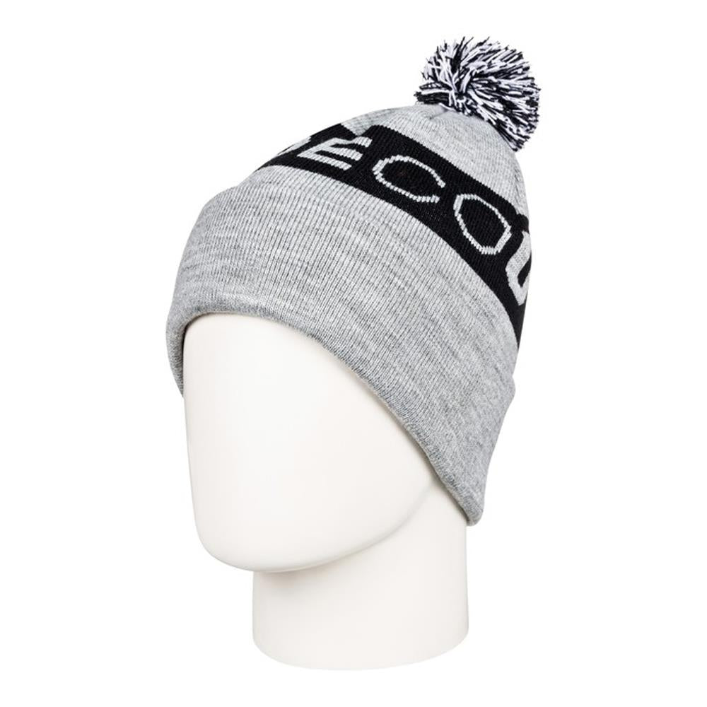 edbha03026-skph DC Chester Youth Toque heather grey overall view