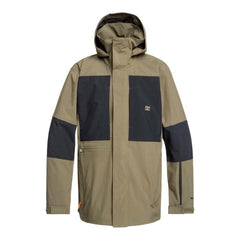 edytj03085-crh0 DC Command Packable Snow Jacket front view olive night