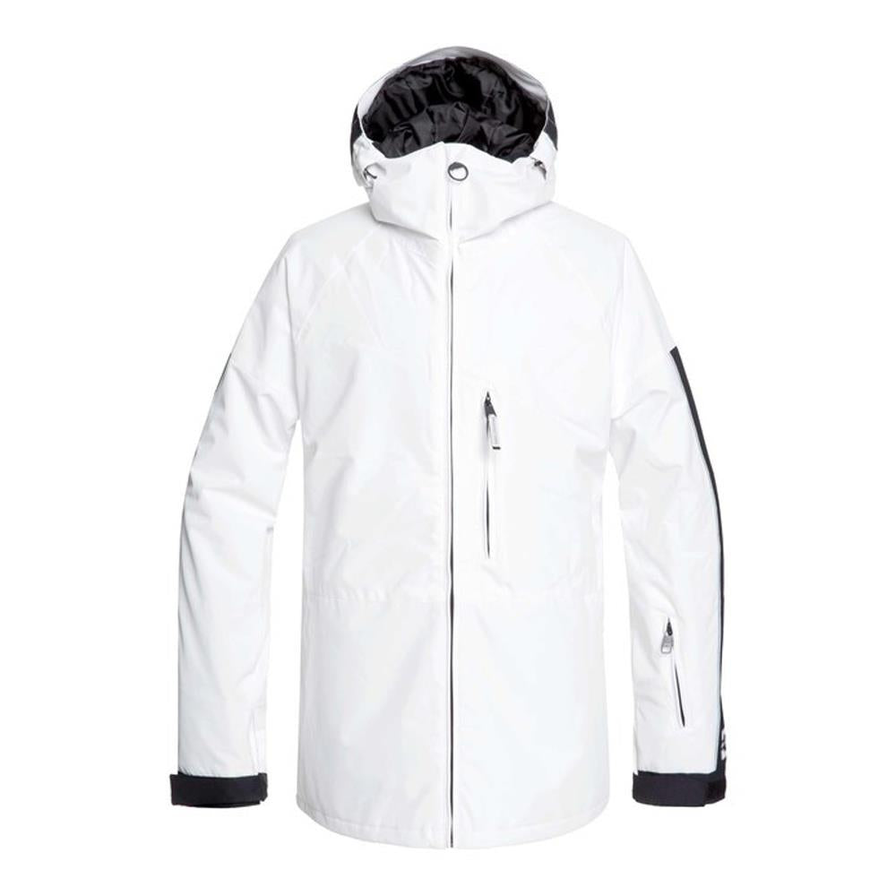 edytj03091-wbb0 DC Retrospect Snow Jacket white front view