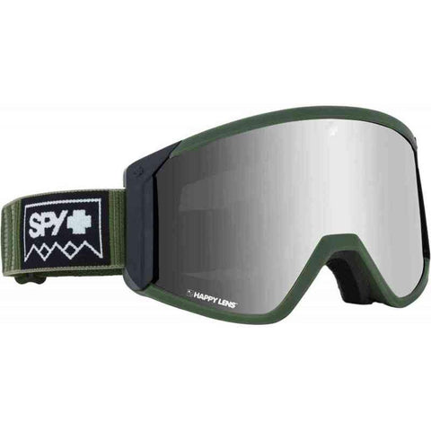 313074856703, Raider Deep Winter Olive with silver spectra, Spy, Winter 2020, Mens Goggles