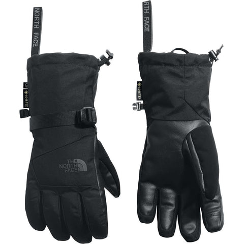 nf0am39jk3 The North Face Montana Etip Gore Tex Gloves black overall view