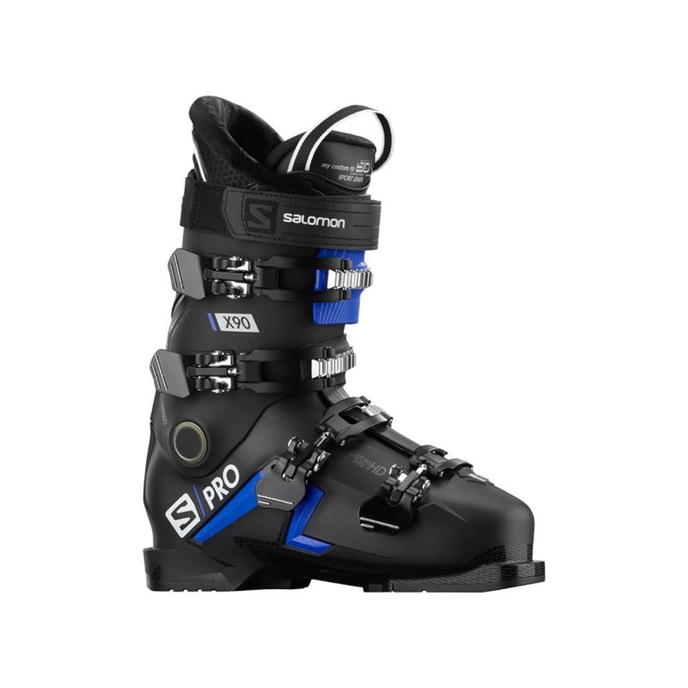 L40912700, SALOMON, ALPINE S/PRO X90 CS IIC BLACK/ RACE BLACK
