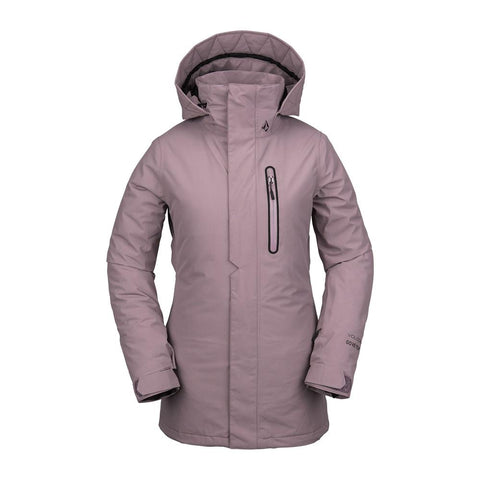 h0452003-puh Volcom Eva Insulated GoreTex Womens Jacket front view