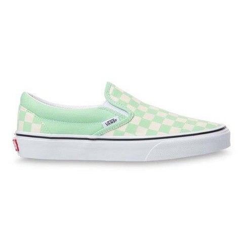 Vans Classic Slip On Checkerboard Womens Skate Shoes