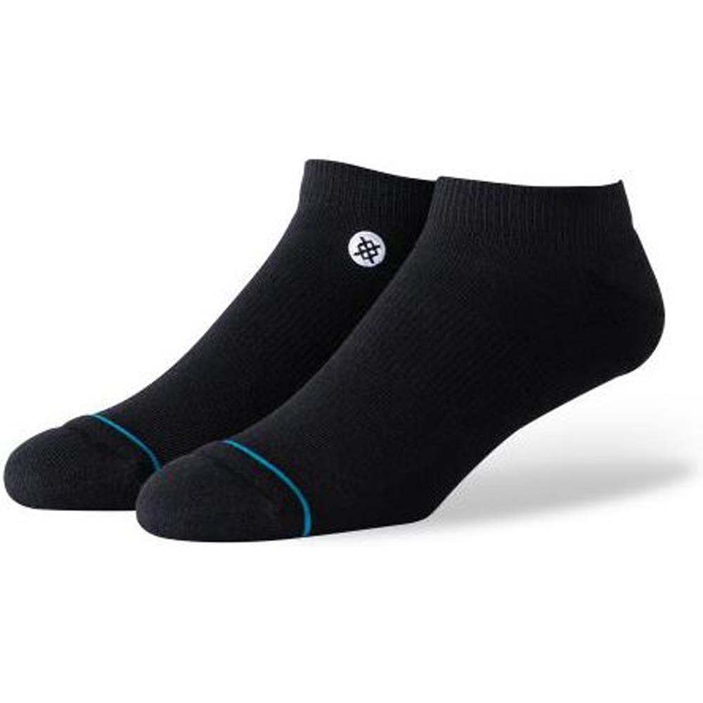 M256C19ICO.BLW, BLACK WHITE, STANCE, ICON LOW SOCKS, NO SHOW MENS SOCKS, SPRING 2020