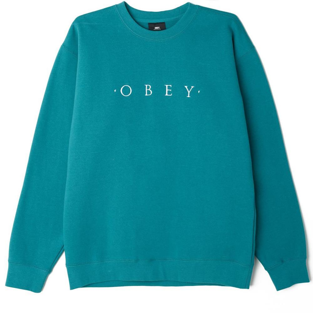 Obey Nouvelle II Crewneck Long Sleeve Shirts