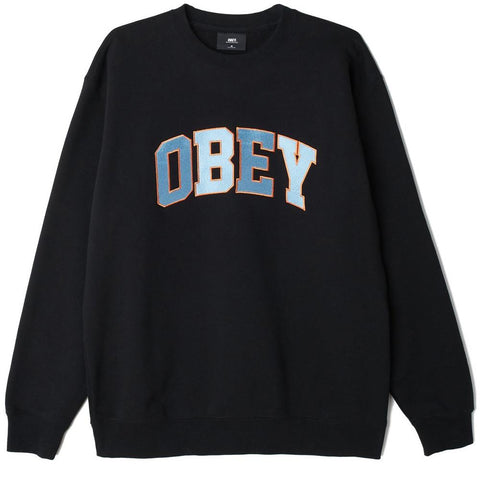 Obey Sports II Crewneck Long Sleeve Shirts