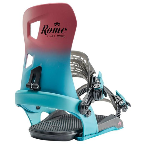 20bn3504021 Rome SDS Flare Womens Bindings berry fade back view