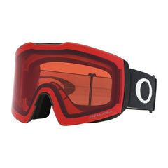 oo7099-04 Oakley Fall Line XL Snow Goggle matte black/snow rose side