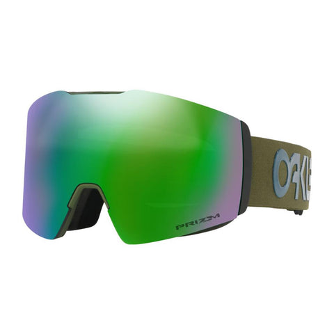 oo7099-16 Oakley Fall Line XL Factory Pilot Progression Snow Goggle Factory Pilot Progression/snow jade iridium side