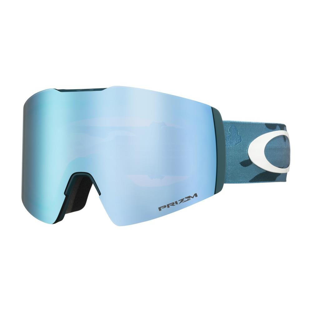 oo7099-17 Oakley Fall Line XL Mark McMorris Progression Snow Goggle clas camo blue/snow sapphire iridium side