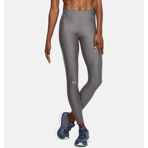 1309631-019, grey, Charcoal Light Heather/Metallic Silver, Womens Leggings, Under Armour, Heat Gear, Fall 2019
