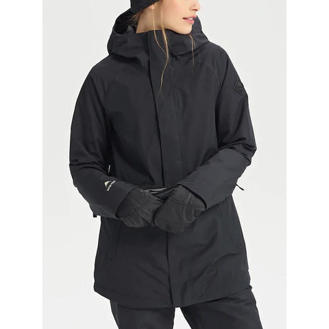 205421-01001, Black, True Black, Womens Outerwear, Burton, Gore-Tex Kaylo Jacket, Womens Jackets, Winter 2020