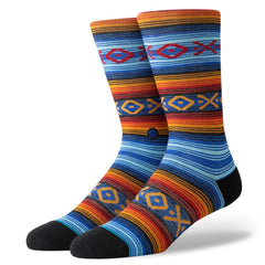 M545D19SLA.ROY, ROYAL, STANCE, SLAP STICK CREW SOCKS, MENS SOCKS
